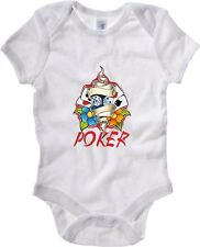 Body neonato T0877 poker fun cool geek