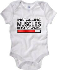 Body neonato T1096 installing muscles fun cool geek