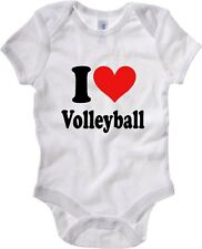 Body neonato TLOVE0010 i heart volleyball