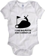 Body neonato TLOVE0013 i like big putts white
