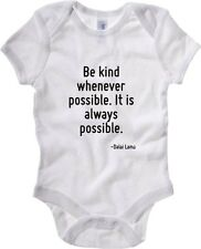 Body neonato CIT0044 Be kind whenever possible. It is always possible.