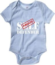 Body neonato TAM0151 proud self defender dark tshirt