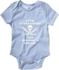 Body neonato T0065 PIRATI fun cool geek