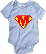 Body neonato T0663 M SUPERMAN fun cool geek
