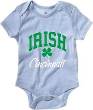 Body neonato TIR0026 cincinnati irish dark tshirt