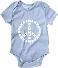Body neonato TIR0181 shamrock peace dark tshirt