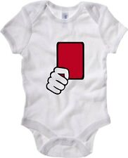 Body neonato OLDENG00215 referee red card kids