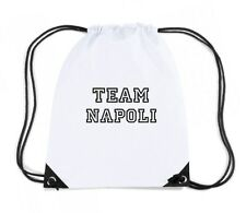 Zaino Zainetto Budget Gymsac  OLDENG00263 team napoli white