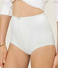 Playtex I Can't Believe It's A Girdle Maxi Control Brief Shapewear P2522 White