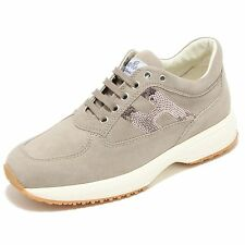 3498I sneakers donna HOGAN interactive h pailettes scarpe shoes women