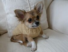 "7"" Male Unisex Hand Made Small Dog/Puppy/Tea Cup Chihuahua Jumper/Coat DK"