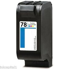 1 x Color Cartucho De Tinta No-OEM Alternativa Para HP Deskjet Número 78 C6578A