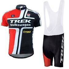 Trek Replica Cycling Jersey and Bib Short Set Racing Pro
