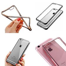 Funda para Apple iPhone 5/5s 5se ULTRA FINO METAL Gel Blando Tpu Silicona