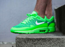 Nike Air Max 1 Ultra Flyknit Trainer 'VOLTAGE GREEN' 6,7,8,9,10,11