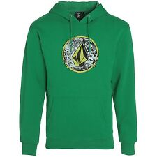 "Volcom Herren Pullover ""Public Stone"" Hoodie (A4131553) Farbe: Green"