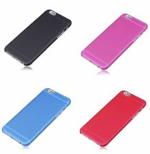 Frosted Matte Ultra Thin Hard Plastic Shell Back Cover Case for iPhone 6 & 6Pls
