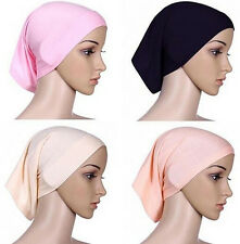 Head Scarf Cover Muslim Underscarf Islamic Cotton Hijab Headwrap Women Bonnet