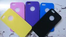 Rubberized High Quality Back Cover Case for Apple iphones