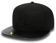 NEW ERA 59FIFTY FITTED CAP. DIAMOND ERA PERFORATED NEW YORK YANKEES. BLACK/BLACK