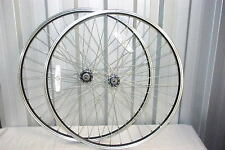 Pair 26 inch Bicycle Wheels MTB Mountain Bike QR with Screw On Rear Freewhee Hub