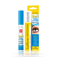 Eveline Cosmetics - Total Action Concentrated Eyelash Serum 8 in 1 Lash Growth
