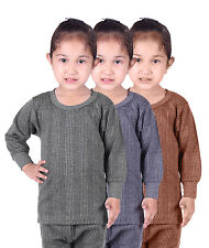 3 pcs pack Kids Unisex Body Warmer Thermal Wear (Upper) Color Assorted