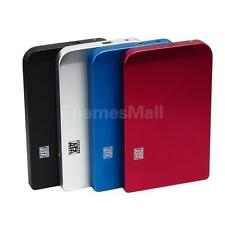 "USB 2.0 SATA 2.5"" Hard Disk Drive HDD External Enclosure Case Box w USB Cable"