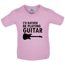 Vorrei Rather Be Giocare Chitarra - Bambini / T-Shirt-musica - Rock - Equipment