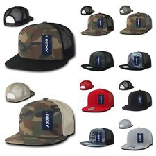 Men Mesh Trucker Baseball Cap Snap back Camo Army Military Hunting Hip Hop Hat
