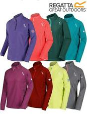 Regatta Womens/Ladies Montes Half Zip Ribbed Fleece Pullover