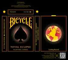 CARTE DA GIOCO BICYCLE TOTAL ECLIPSE,poker size