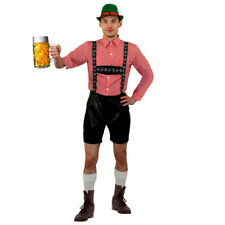 MENS DELUXE BAVARIAN COSTUME LEDERHOSEN GERMAN OKTOBERFEST FANCY DRESS COSTUME