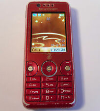 Sony Ericsson W660i Walkman Rose Red (Unlocked) Mobile Phone 3G
