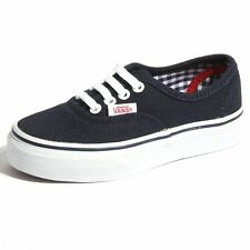 B0047 sneakers bimbo VANS authentic tela scarpe shoes kids