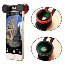 Olloclip Style Red Fisheye + Wide Angle+ Macro Camera Lens For iPhone 6/6S