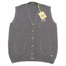 2204Q gilet uomo SHOCKLY smanicato grigio sleeveless sweater men