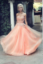 New Sexy Lace Applique Evening Cocktail Prom Gowns Party Formal Cocktail Dresses