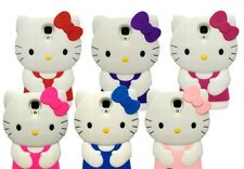 1 x Brand New 3D Cute Cartoon Hello Kitty Phone Case Cover Skin For Samsung S4