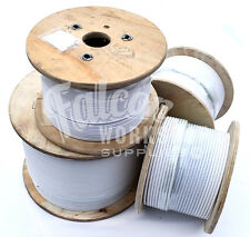 PVC COATED A4 STAINLESS STEEL MARINE WIRE ROPE CABLE 7 x 7, 3mm 4mm 5mm DIAMETER