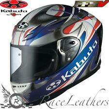 KABUTO OGK FF-5V VIENTO BLUE MOTORCYCLE MOTORBIKE BIKE RACE RACING HELMET