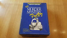 VINTAGE MURDER MYSTERY DINNER PARTY GAME 'DEATH IN ST JAMES PARK' 6 PLAYERS 18+