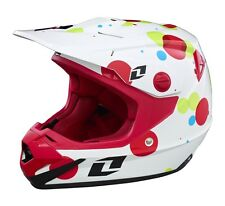 ONE INDUSTRIES YOUTH ATOM HELMET FIZZLE WHITE WITH MIPS KIDS JUNIOR MOTOCROSS MX