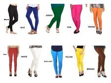 Combo pack of 10 Leggings for women, 100% Cotton made with Color Guarantee
