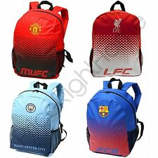 FOOTBALL FADE BACKPACKS - MANCHESTER CITY / UNITED, FC BARCELONA, LIVERPOOL FC