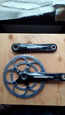 CAMPAGNOLO CENTAUR CARBON COMPACT CHAINSET SQUARE TAPER