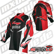 Sinisalo Tech Jersey rot Motocross Enduro Cross MTB Quad MX FMX DH FR