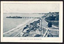 D 883      Pier From East Cliff  , Bournemouth . Dated 1910 .