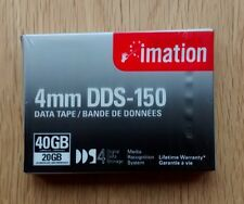 3 x IMATION DDS-4 Data Cartridge Tapes DDS-150 40GB Brand New Still Sealed
