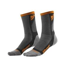 THOR MX / MTB SOCKEN 2016 MX-SOCKS COOL DUAL LOW - grau-orange